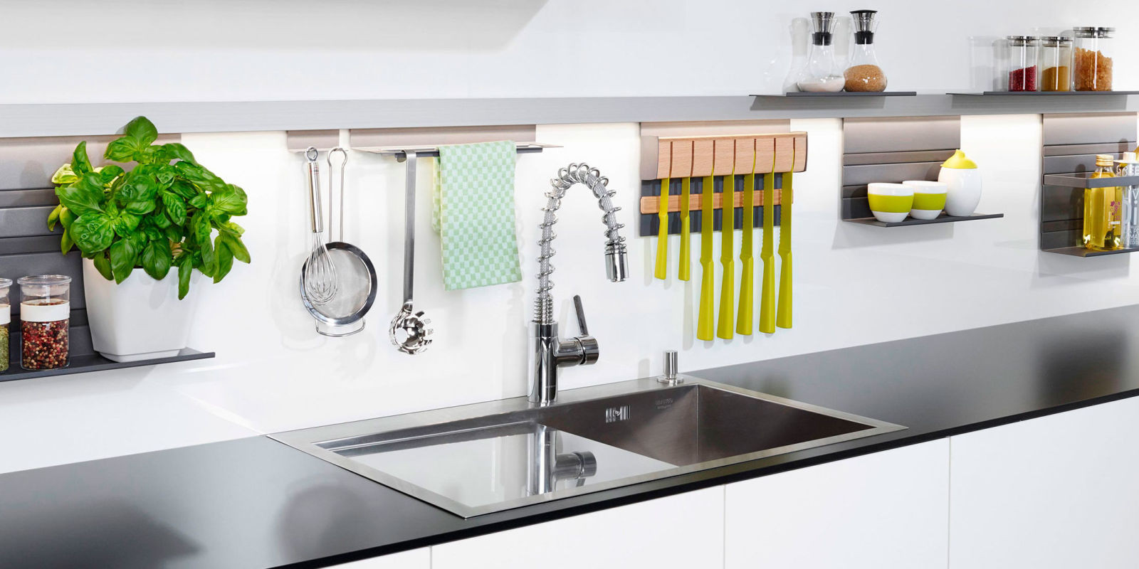 Best ideas about Clever Kitchen Ideas . Save or Pin Clever kitchen storage ideas to clear kitchen clutter Now.