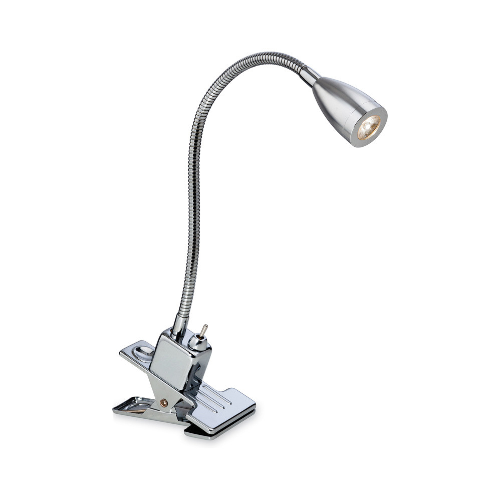 Best ideas about Clip On Desk Lamp . Save or Pin Firstlight 2340CH Dune LED 1 Light Chrome Clip on Desk Lamp Now.