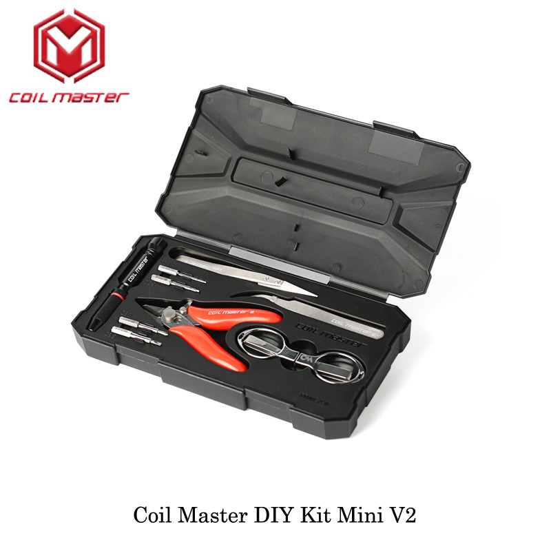 Best ideas about Coil Master DIY Kit Mini V2 . Save or Pin 3pcs lot Coil Master DIY Kit Mini V2 CoilMaster V2 Now.