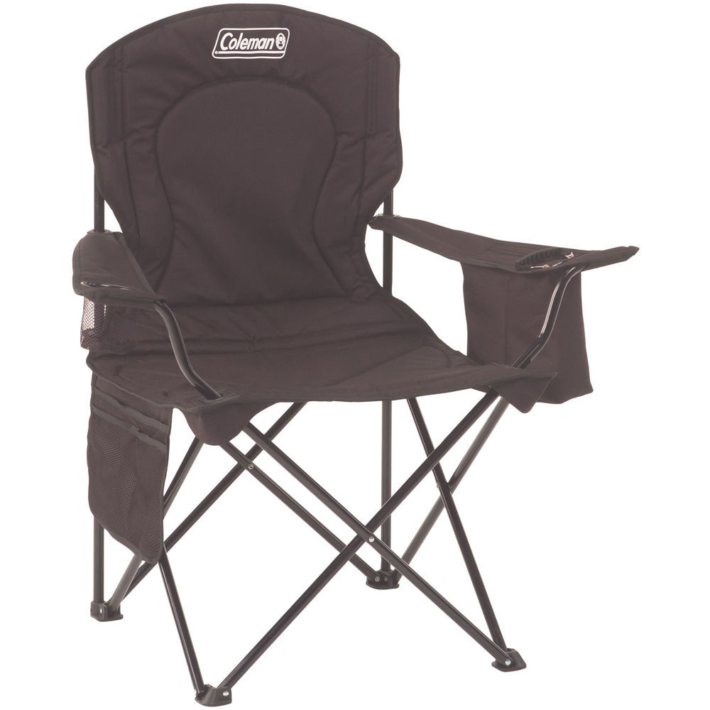 Best ideas about Coleman Oversized Quad Chair With Cooler . Save or Pin Coleman Oversized Quad Chair with Cooler Black Now.