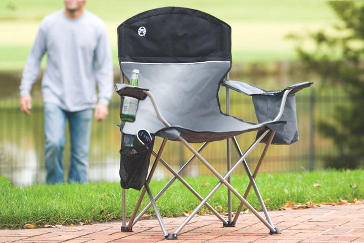 Best ideas about Coleman Oversized Quad Chair With Cooler . Save or Pin The best camping chair you can ⋆ New York city blog Now.