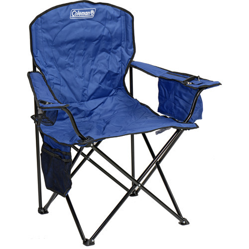 Best ideas about Coleman Oversized Quad Chair With Cooler . Save or Pin Coleman Oversized Quad Chair with Cooler Blue B&H Now.