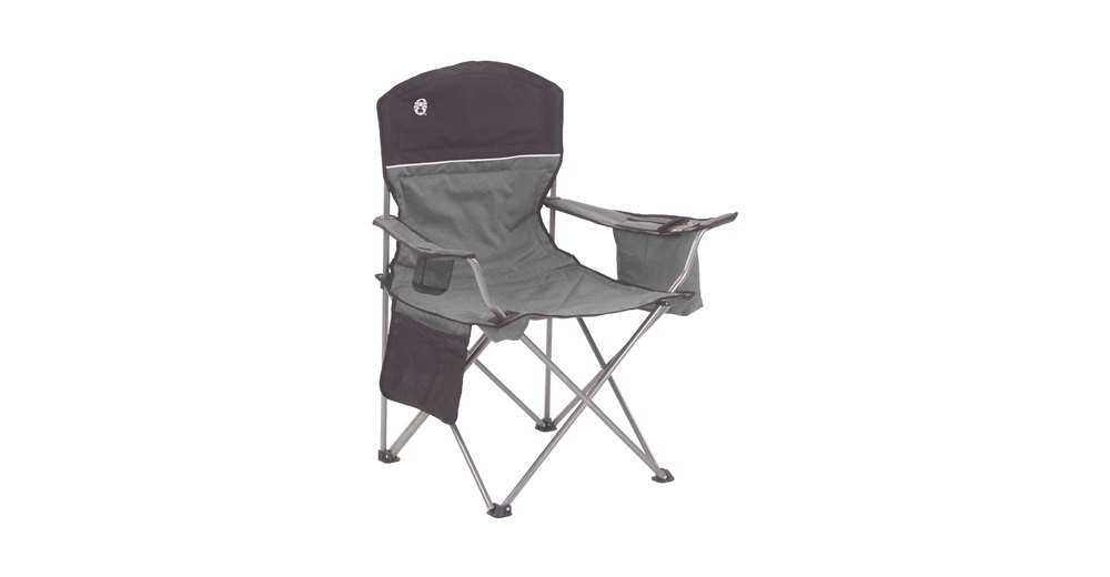 Best ideas about Coleman Oversized Quad Chair With Cooler . Save or Pin Coleman Oversized Quad Chair with Cooler and Cup Holder Now.