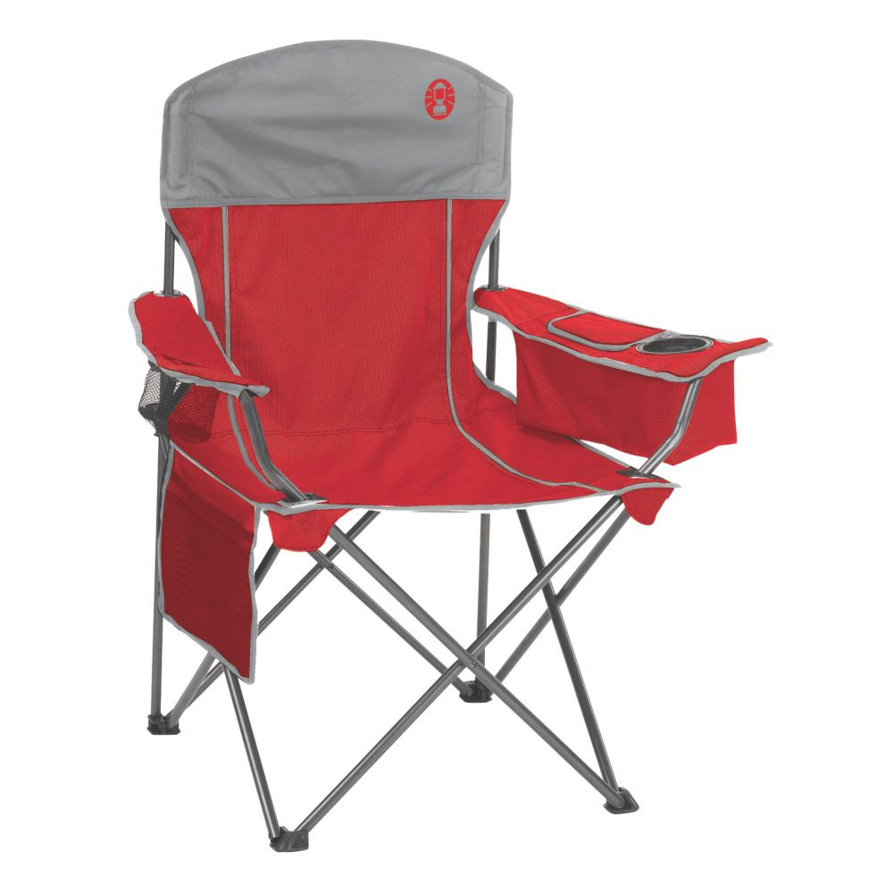 Best ideas about Coleman Oversized Quad Chair With Cooler . Save or Pin Cooler Quad Chair Now.
