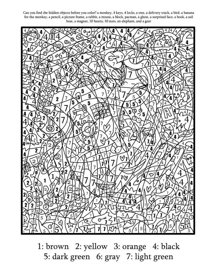 Best ideas about Color By Number Adult Coloring Books . Save or Pin 45 best color by number images on Pinterest Now.