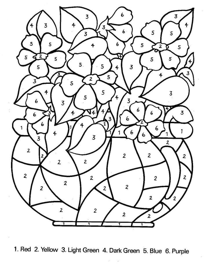 Best ideas about Color By Number Adult Coloring Books . Save or Pin Free Printable Color by Number Coloring Pages Best Now.