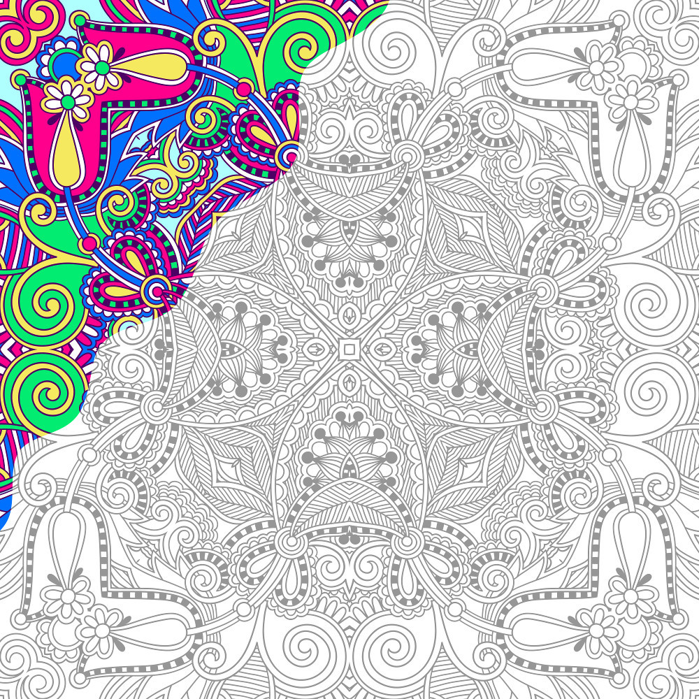 Best ideas about Color By Number Adult Coloring Books . Save or Pin Color By Number Worksheets For Adults coloring pages Now.