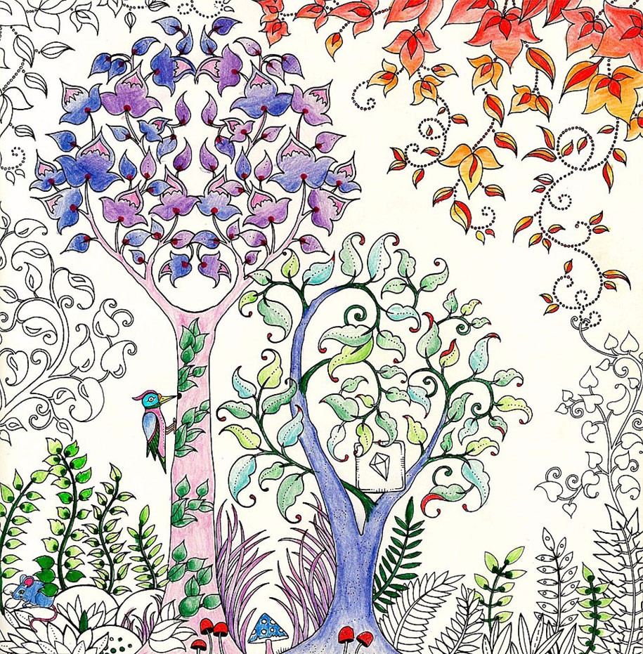 Best ideas about Coloring Books Adult . Save or Pin British Artist Draws Coloring Books For Adults And Sells Now.