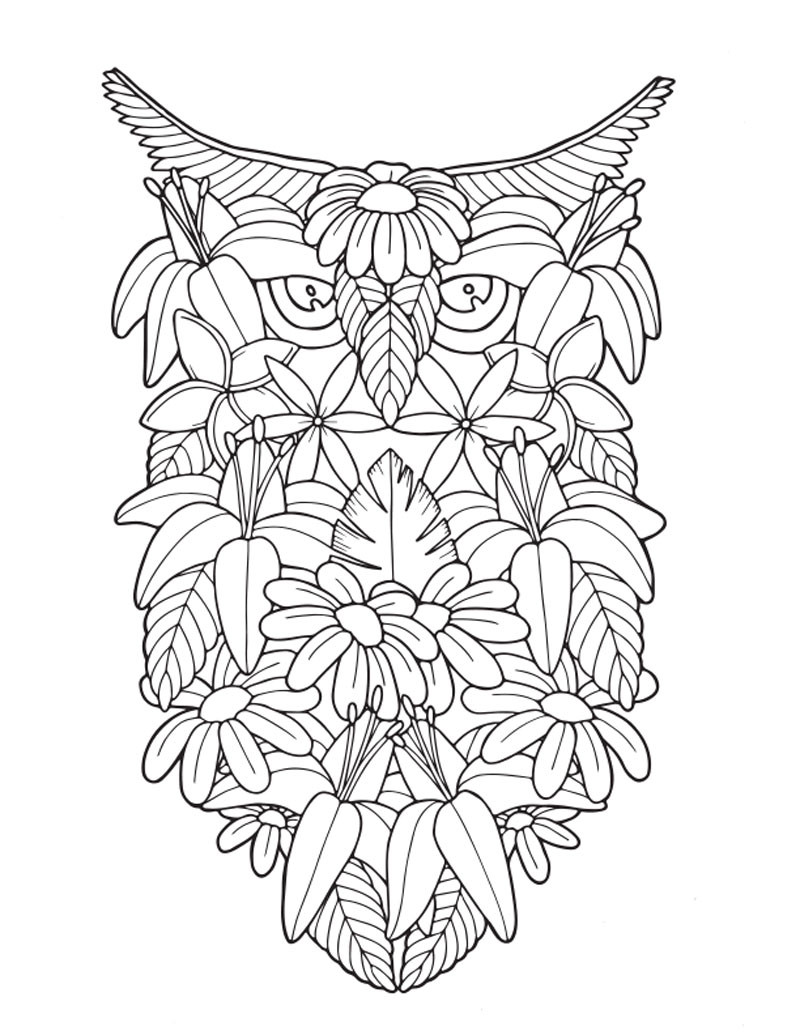 Best ideas about Coloring Books Adult . Save or Pin Adult Coloring Book Tropical Travel Patterns Now.