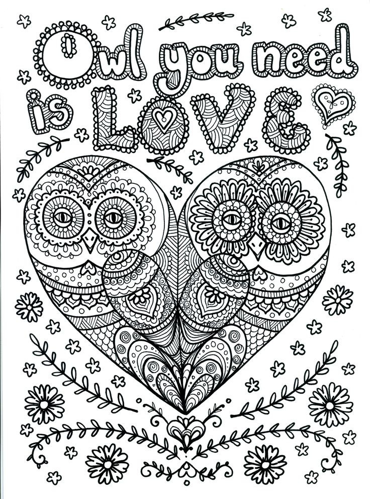 Best ideas about Coloring Pages For Adults Only . Save or Pin OWL Coloring Pages for Adults Free Detailed Owl Coloring Now.
