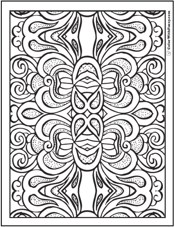 Best ideas about Coloring Pages For Adults Patterns . Save or Pin Pattern Coloring Pages Customize PDF Printables Now.