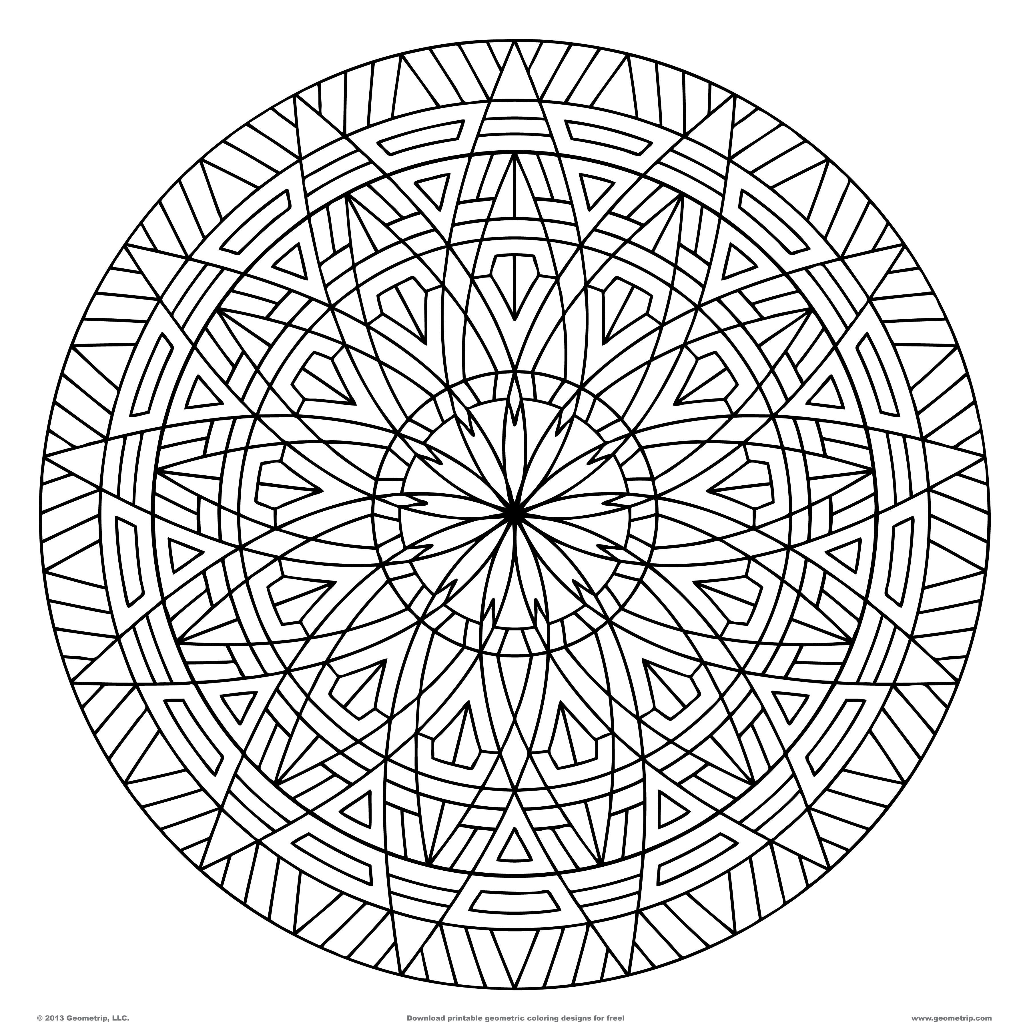 Best ideas about Coloring Pages For Adults Patterns . Save or Pin Pattern Coloring Pages For Adults Coloring Home Now.