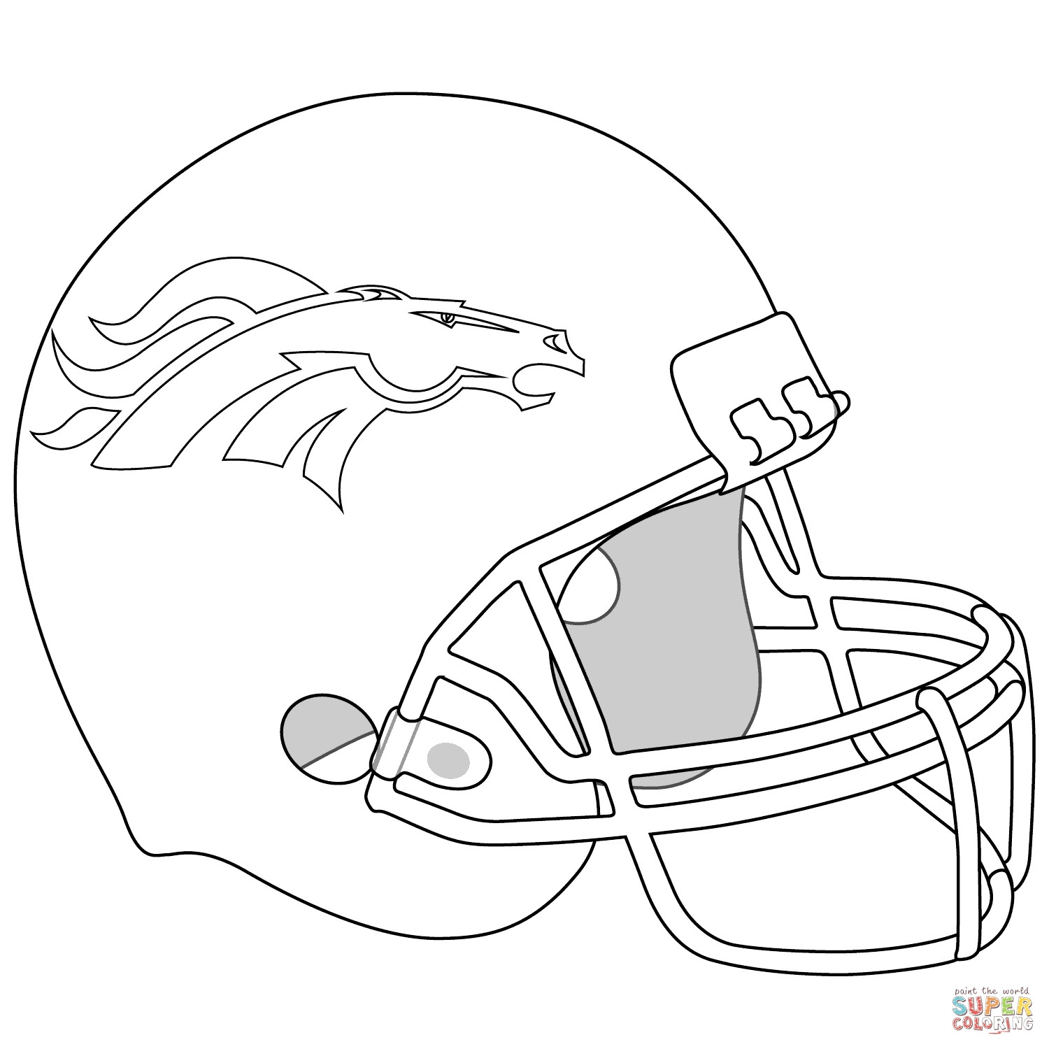 Best ideas about Coloring Pages For Boys Football Broncos . Save or Pin New Baby Jesus Coloring Pages Printable Free Now.