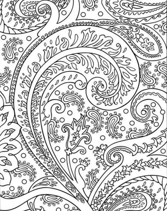 Best ideas about Coloring Pages For Girls 12 And Up Abstract . Save or Pin Abstract Coloring Pages Dr Odd Now.