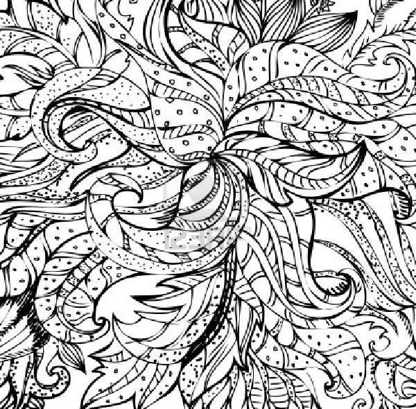 Best ideas about Coloring Pages For Girls 12 And Up Abstract . Save or Pin free abstract coloring pages for teens Now.
