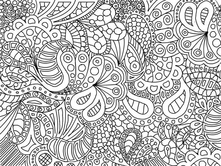 Best ideas about Coloring Pages For Girls 12 And Up Abstract . Save or Pin Free Printable Mindfulness Colouring Pages Printable 360 Now.