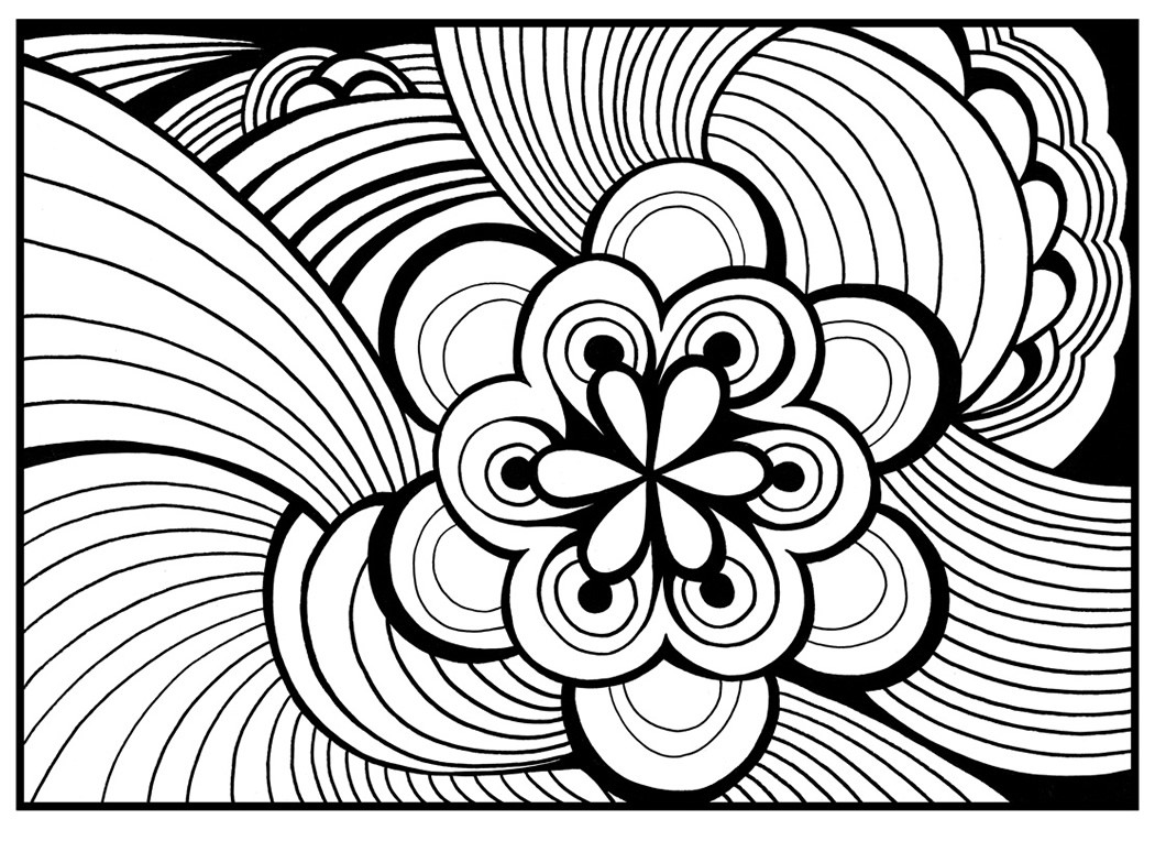 Best ideas about Coloring Pages For Girls 12 And Up Abstract . Save or Pin Coloring Pages for Teenagers Dr Odd Now.