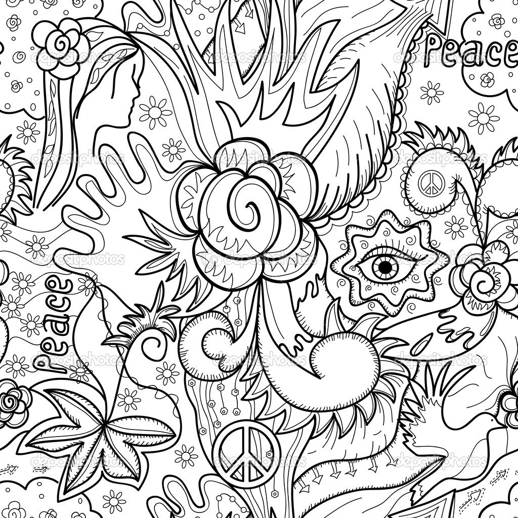 Best ideas about Coloring Pages For Girls 12 And Up Abstract . Save or Pin Free Printable Abstract Coloring Pages For Adult Image 8 Now.