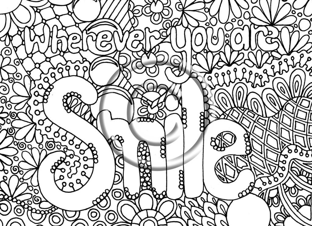 Best ideas about Coloring Pages For Girls 12 And Up Abstract . Save or Pin Coloring Pages Abstract Color Pages Printable Mandala Now.
