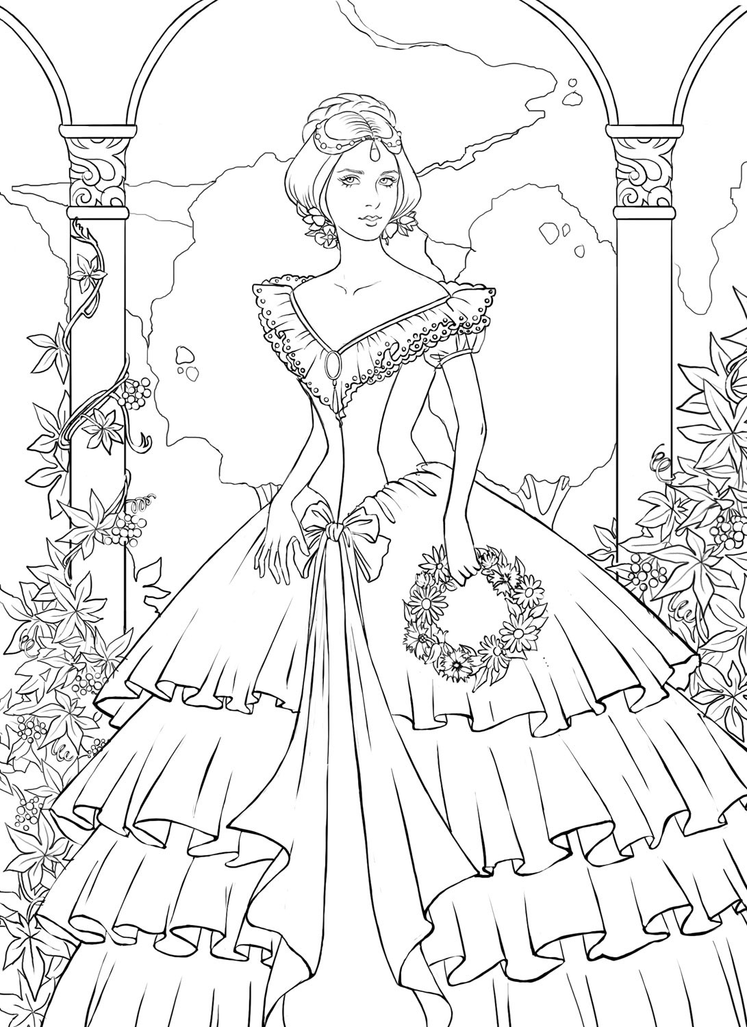 Best ideas about Coloring Pages For Girls Detailed . Save or Pin Very Detailed Coloring Pages Bestofcoloring Now.