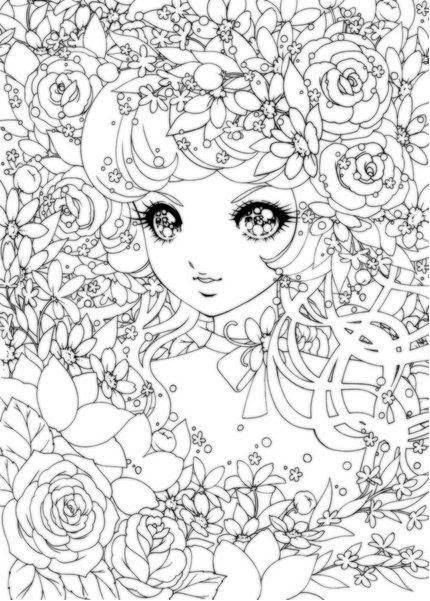 Best ideas about Coloring Pages For Girls Detailed . Save or Pin Detailed coloring pages of anime girl ColoringStar Now.