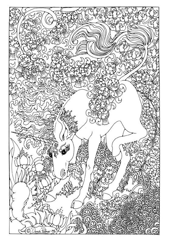 Best ideas about Coloring Pages For Girls Detailed . Save or Pin Unicorn Coloring Pages for Adults Bestofcoloring Now.