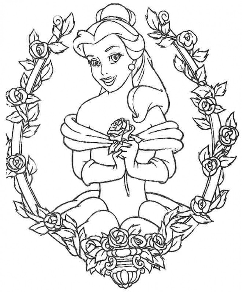 Best ideas about Coloring Pages For Girls Disney Princess . Save or Pin Easy Free Printable Winter Coloring Pages Disney Easy Now.
