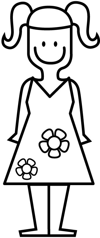 Best ideas about Coloring Pages For Girls Dresses . Save or Pin coloring pages for girls dresses having flowers Now.