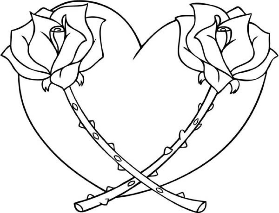 Best ideas about Coloring Pages For Girls Hearts . Save or Pin 20 Free Printable Hearts Coloring Pages Now.