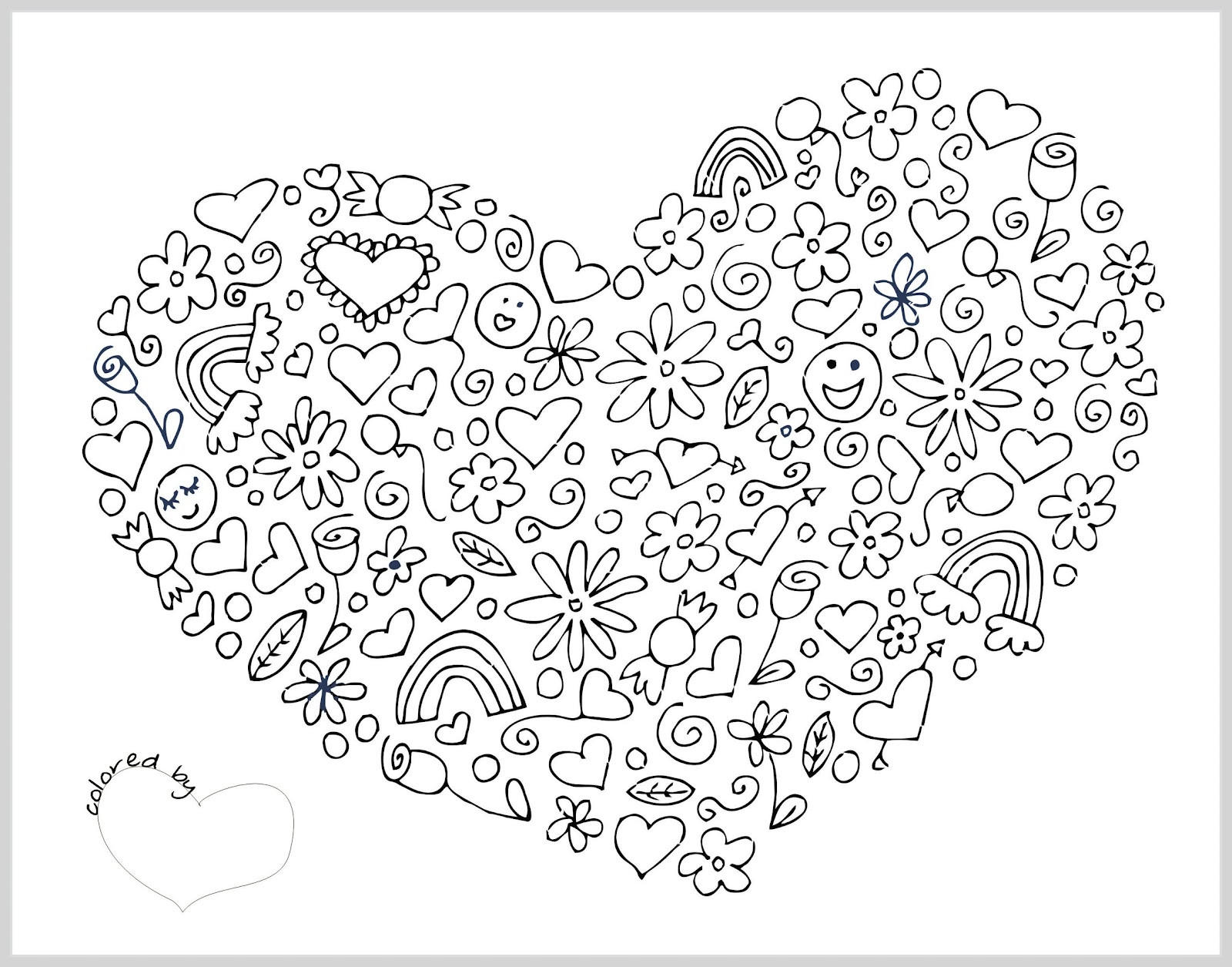 Best ideas about Coloring Pages For Girls Hearts . Save or Pin Valentine Coloring Pages Best Coloring Pages For Kids Now.