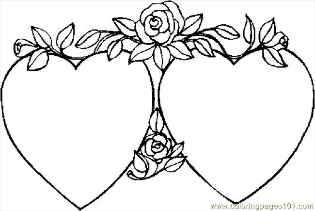 Best ideas about Coloring Pages For Girls Hearts . Save or Pin Heart Coloring Pages Bestofcoloring Now.