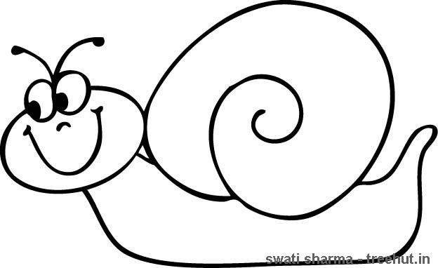 Best ideas about Coloring Pages For Girls Snails . Save or Pin Snail Coloring Page Now.