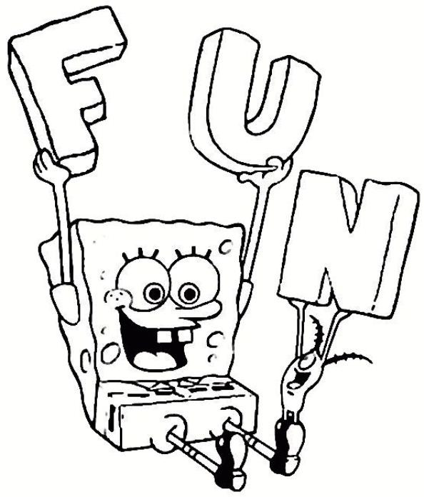 Best ideas about Coloring Pages For Kids Spongebob . Save or Pin Kids n fun Now.