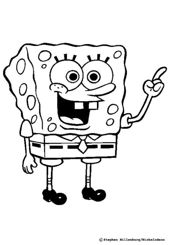 Best ideas about Coloring Pages For Kids Spongebob . Save or Pin Sponge bob coloring pages Hellokids Now.