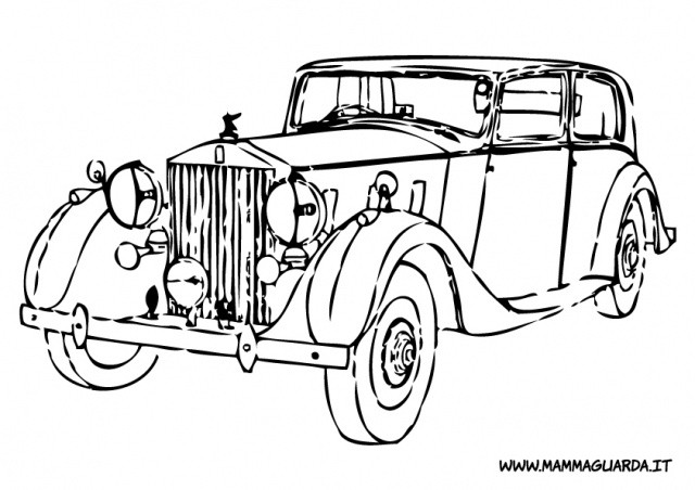 Best ideas about Coloring Pages For Teens Roll Royce . Save or Pin Rolls Royce Car Coloring Pages Sketch Coloring Page Now.