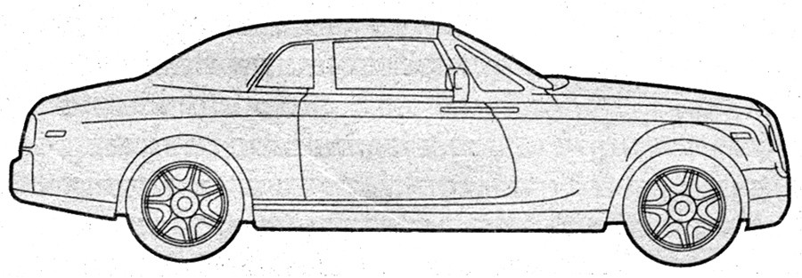 Best ideas about Coloring Pages For Teens Roll Royce . Save or Pin saloon silhouettes Now.