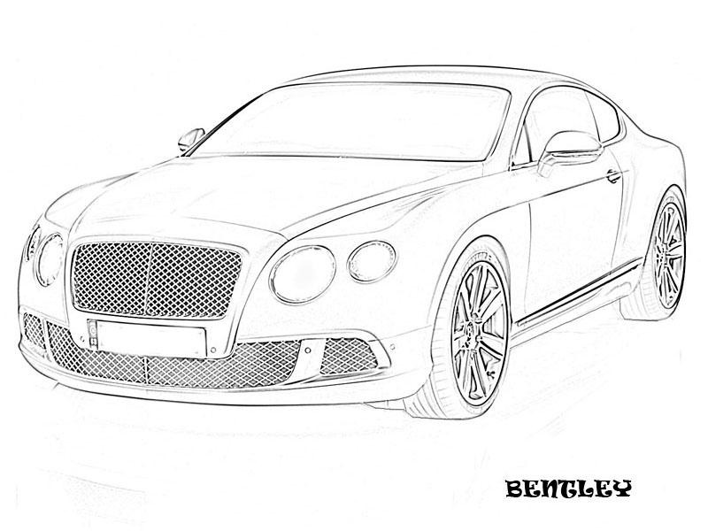 Best ideas about Coloring Pages For Teens Roll Royce . Save or Pin Exotic cars printable coloring page for kids 16 Now.
