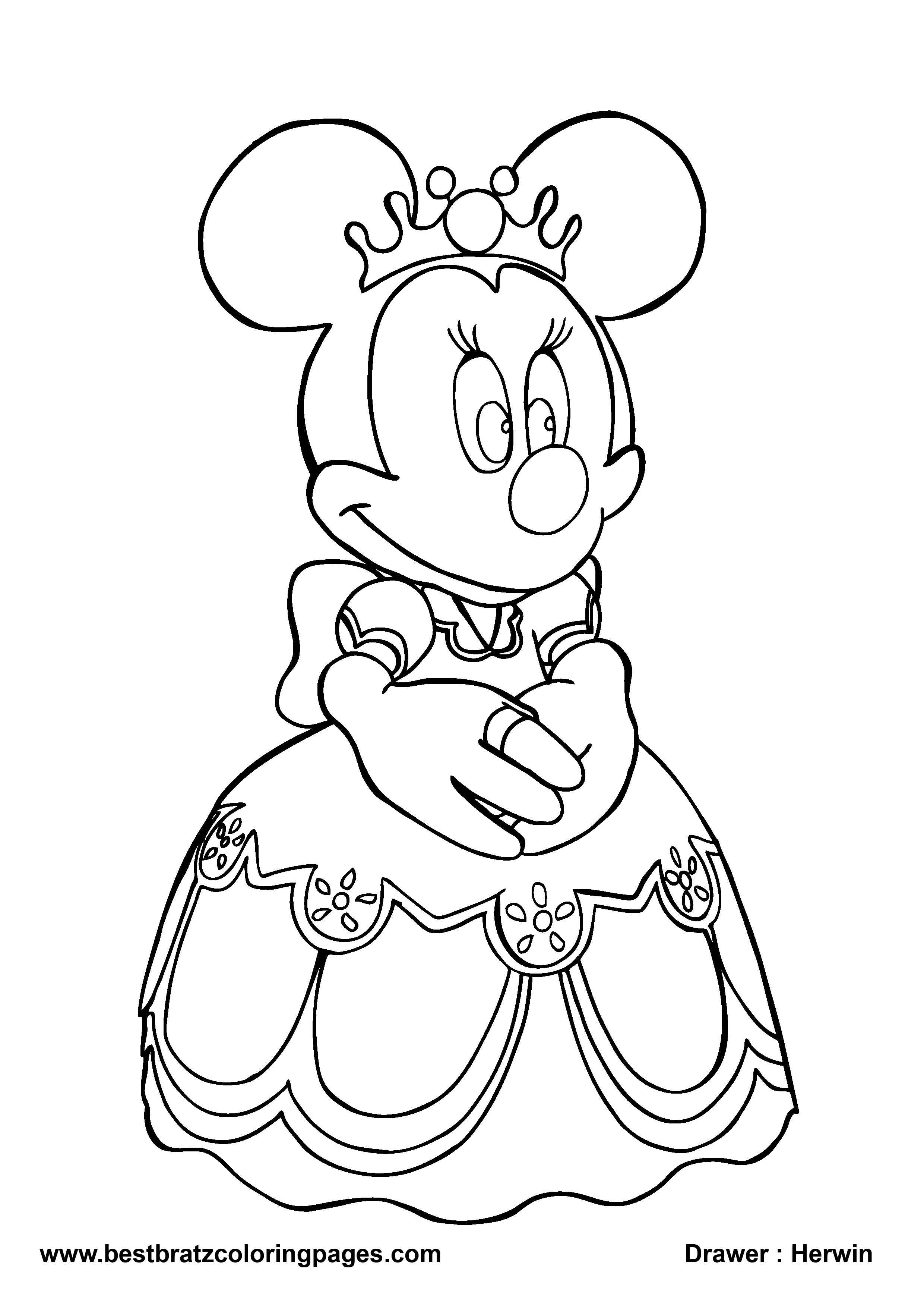 Best ideas about Coloring Sheets For Girls Minne . Save or Pin Minnie Mouse Coloring Pages Games Coloring Pages Minnie Now.