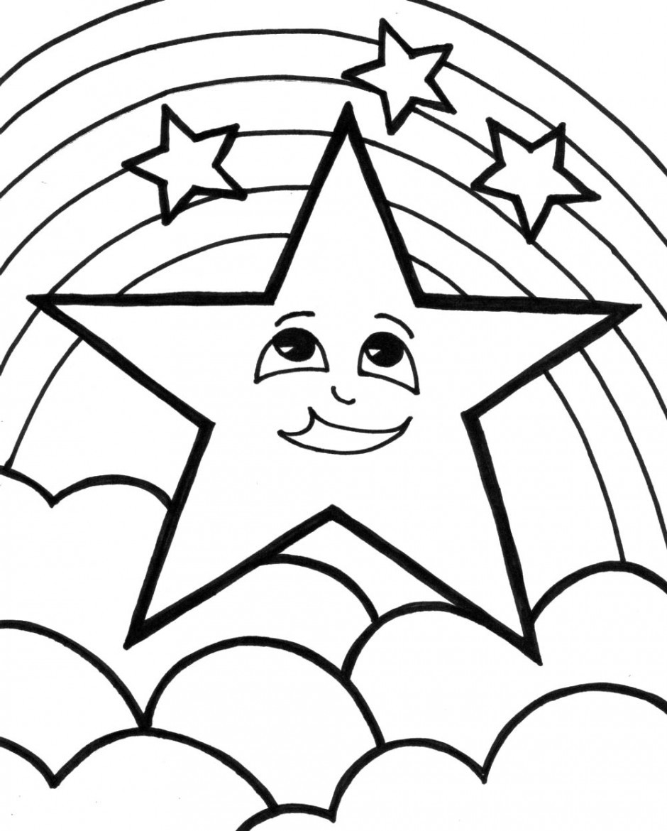 Best ideas about Coloring Sheets For Girls Size Big For The Mouth Of September . Save or Pin Stars Coloring Pages Now.