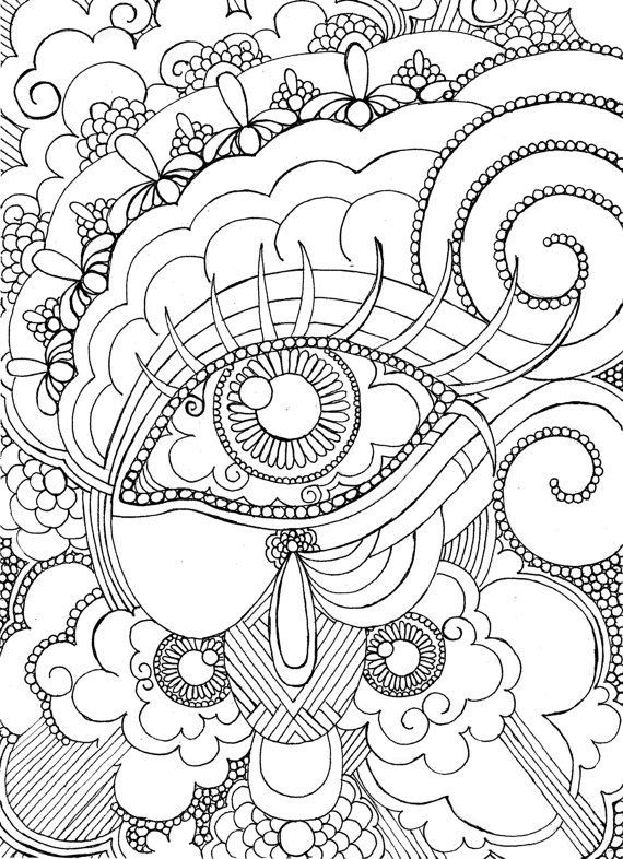 Best ideas about Coloring Sheets For Girls Size Big For The Mouth Of September . Save or Pin 63 Adult Coloring Pages To Nourish Your Mental Visual Now.
