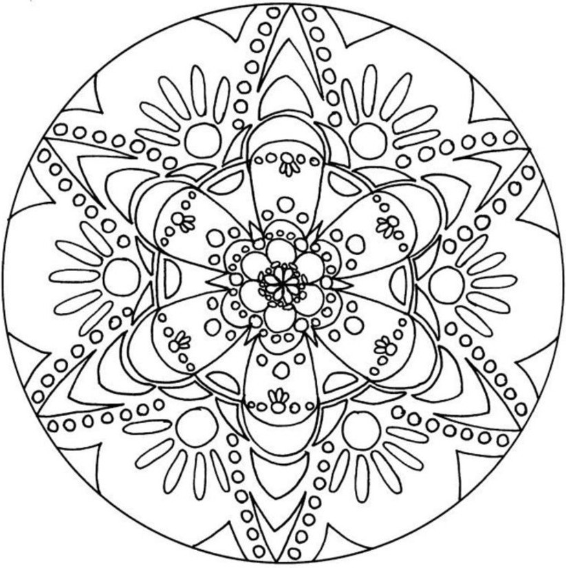 Best ideas about Coloring Sheets For Girls Tweens And Teens . Save or Pin Creatively Content Quick fun t idea plus kaleidoscope Now.