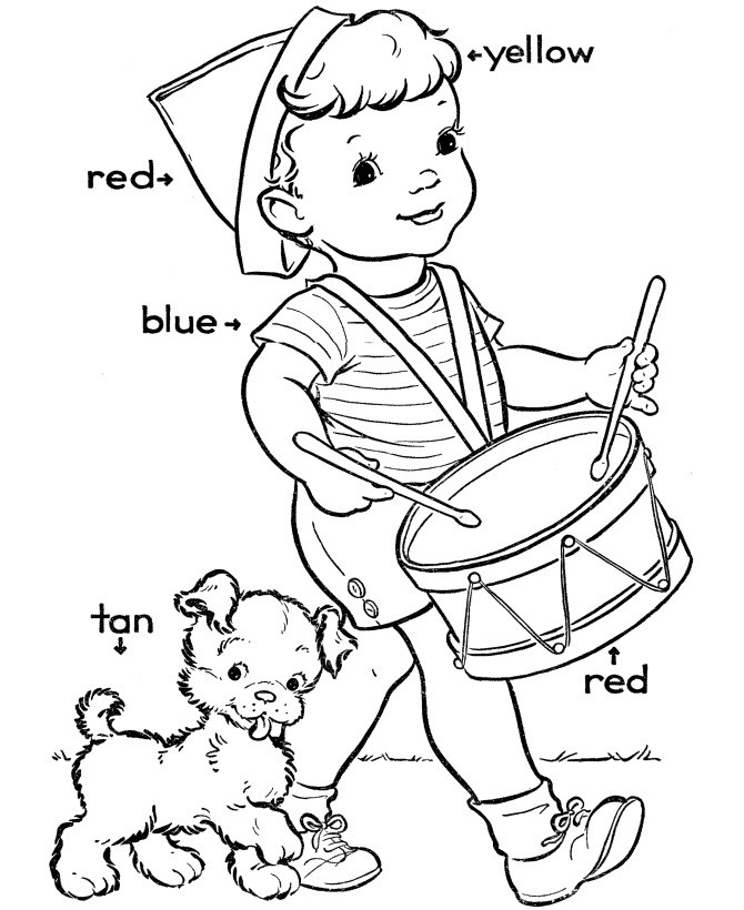 Best ideas about Coloring Sheets For Kids To Learn Colors . Save or Pin Free Printable Kindergarten Coloring Pages For Kids Now.