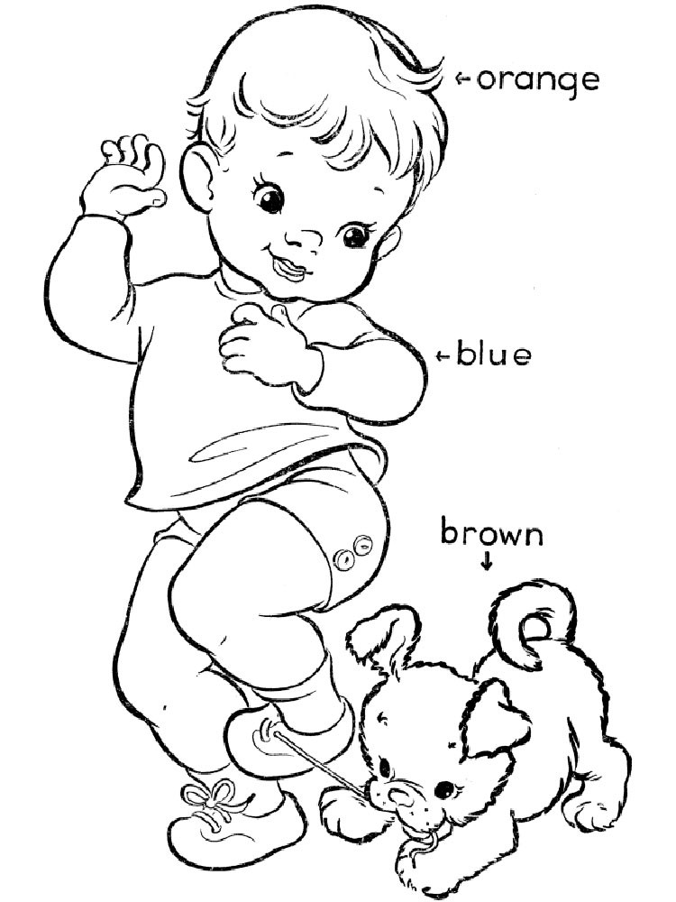 Best ideas about Coloring Sheets For Kids To Learn Colors . Save or Pin Learning Colors coloring pages Download and print Now.