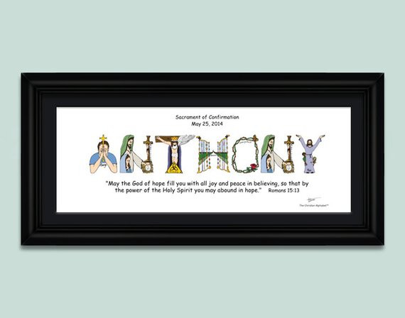 Best ideas about Confirmation Gift Ideas For Boys . Save or Pin Confirmation Gifts for Boys and Girls by TheChristianAlphabet Now.