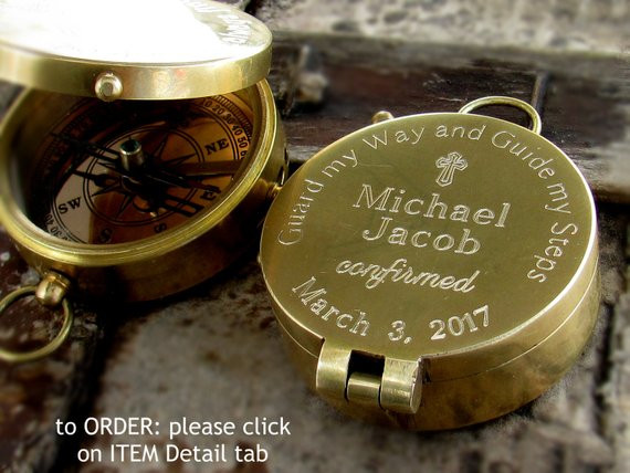 Best ideas about Confirmation Gift Ideas For Boys . Save or Pin Confirmation Gift Boy Catholic Sponsor Gift 1st munion Now.