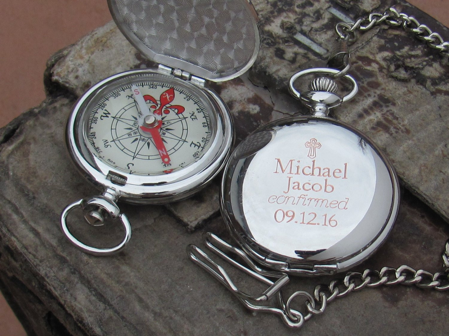 Best ideas about Confirmation Gift Ideas For Boys . Save or Pin Confirmation Gift Engraved Personalized by EngravedGifts1 Now.