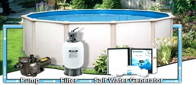 Best ideas about Converting Above Ground Pool To Saltwater . Save or Pin saltwater above ground pool system – cherriescourtfo Now.