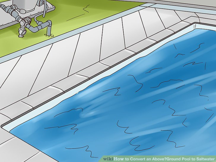 Best ideas about Converting Above Ground Pool To Saltwater . Save or Pin How to Convert an ‐Ground Pool to Saltwater with Now.