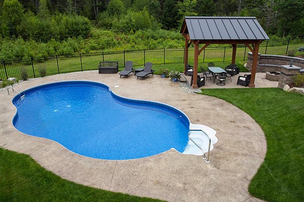 Best ideas about Cost To Put In An Inground Pool . Save or Pin Inground Swimming Pools Types Equipment & Landscaping Now.