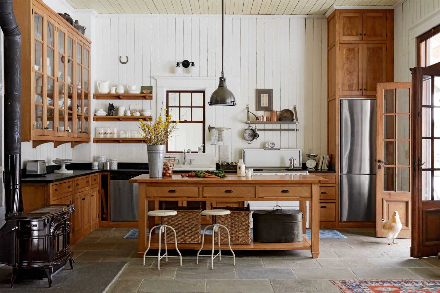 Best ideas about Country Kitchen Decorating Idea . Save or Pin 101 Kitchen Design Ideas of Country Kitchens Now.